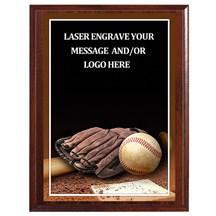 Baseball Photo Sports Plaque - 4 Sizes