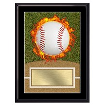 Exclusive Baseball Plaque - 4 Sizes