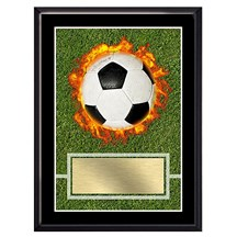 Exclusive Soccer Plaque - 4 Sizes