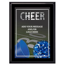 Exclusive Cheer Plaque - 4 Sizes