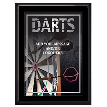 Exclusive Dart Plaque - 4 Sizes