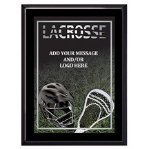 Exclusive Lacrosse Plaque - 4 Sizes