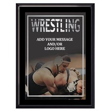 Exclusive Wrestling Plaque - 4 Sizes