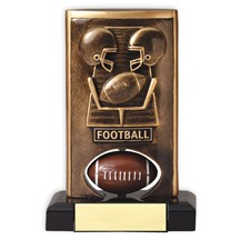 Spinning Resin Football Trophy