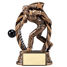 Female Bowling Star Series Trophy - 2 Sizes