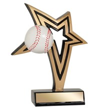 Baseball Infinity Star Resin - 2 Sizes