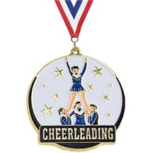 Hi-Tech Series Cheerleading Medal