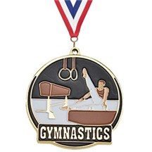 Hi-Tech Male Gymnastics Medal
