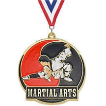 Hi-Tech Series Karate Medal