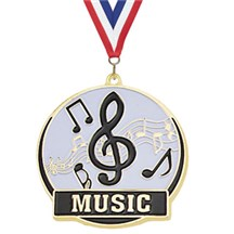 Hi-Tech Series Music Medal