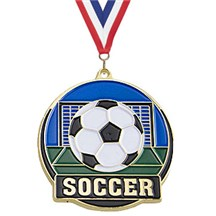 Hi-Tech Series Soccer Medal