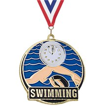 Hi-Tech Series Swimming Medal