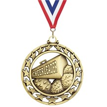 Superstar Series Cheerleading Medal