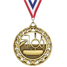 Superstar Series Gymnastics Medal