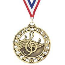 Superstar Series Music Medal