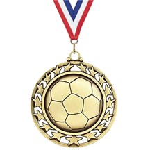 Superstar Series Soccer Medal
