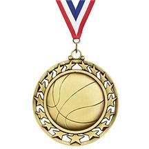 Superstar Series Basketball Medal