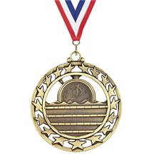 Superstar Series Swimming Medal