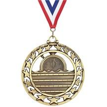 Superstar Series Swimming Medal