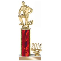 4 Size Year Date Coach Trophy