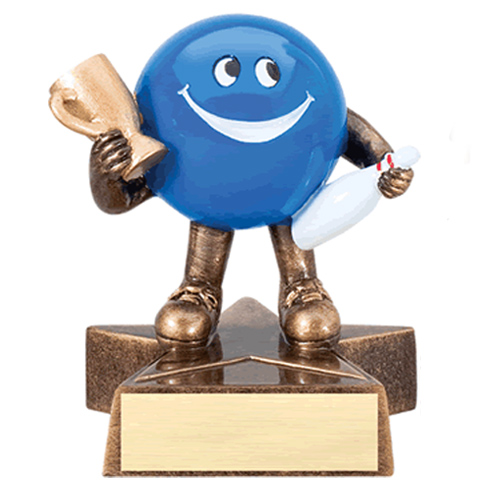 Happy Bowling Trophy