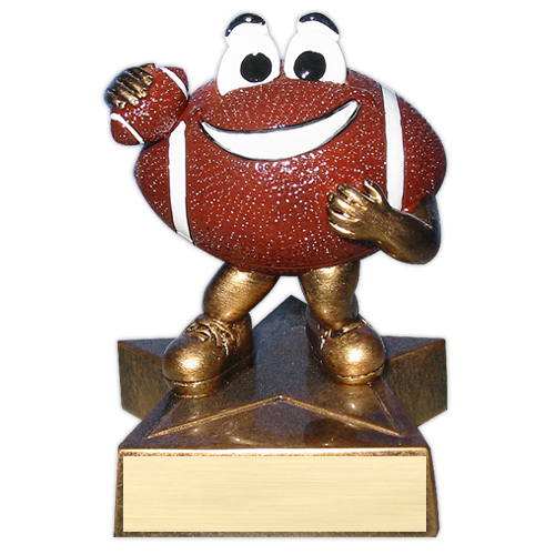 Happy Football Trophy