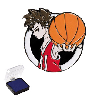 "1"" Basketball Sports Pin"