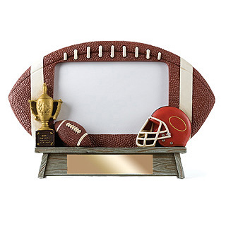 7 in x 6.5 in Vintage Football Photo Frame