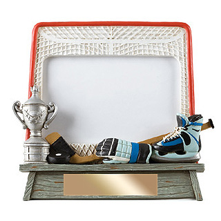 "7"" x 6.5"" Vintage Hockey Photo Frame"