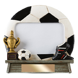 7 in x 6.5 in Vintage Soccer Photo Frame