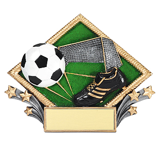 7-1/2 in X 6 in Soccer Diamond Plate