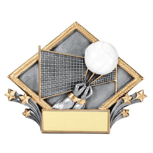 Volleyball Diamond Plate