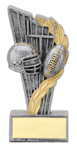 "6"" Resin Victory Football Trophy"