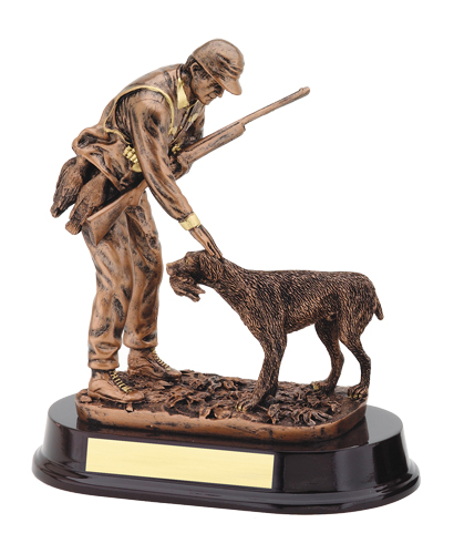 "9 1/2"" Resin Hunting Trophy"