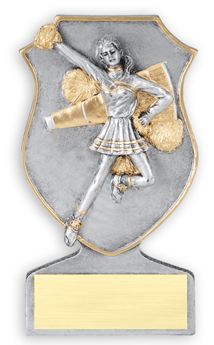 Resin Cheerleading Trophy