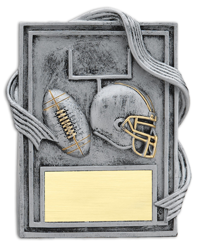 6 in Resin Monolith Football Trophy