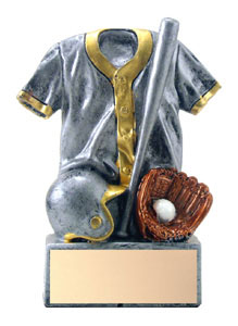4-1/2 in Resin Jersey Baseball Trophy