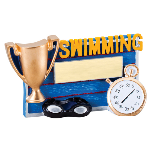 Winners Cup Swimming Resin Trophy