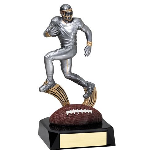 7-1/2 in Motion Football Trophy