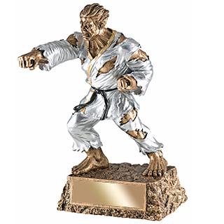 6-3/4 in Karate Monster Resin
