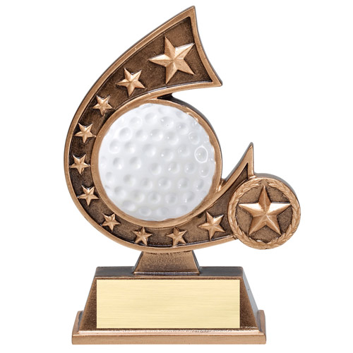 5-3/4 in Golf Comet Resin