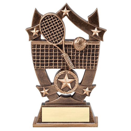"6-1/4"" Stars Tennis Resin"