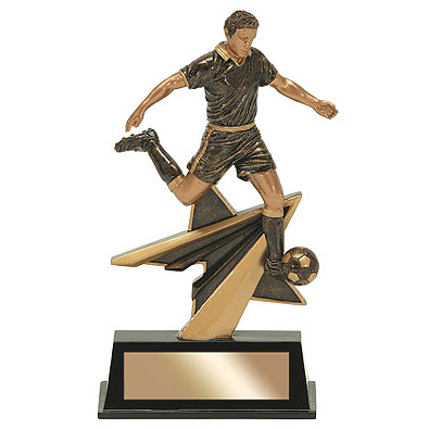 7 in Star Power Male Soccer Resin