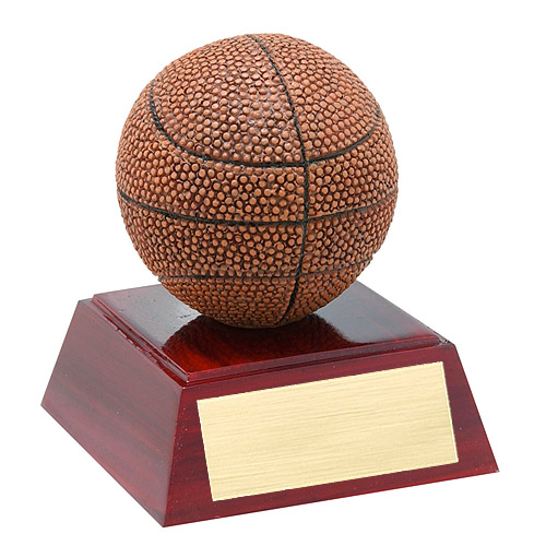 "4"" Full Color Basketball Theme Resin"