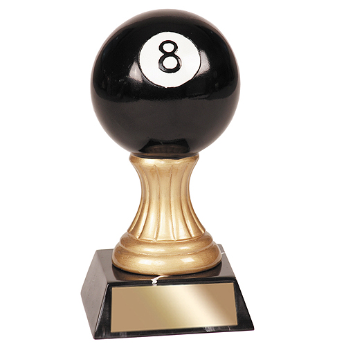 "5-1/2"" Billiard Resin Trophy"