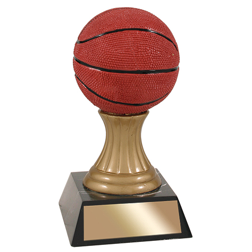 "5-1/2"" Basketball Resin Trophy"