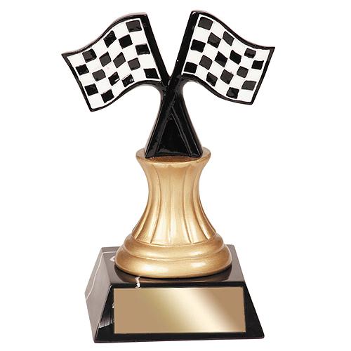 5-1/2 in Racing Resin Trophy