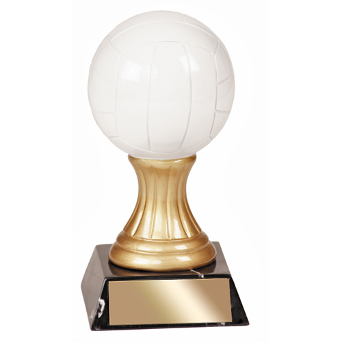 "5-1/2"" Volleyball Resin Trophy"