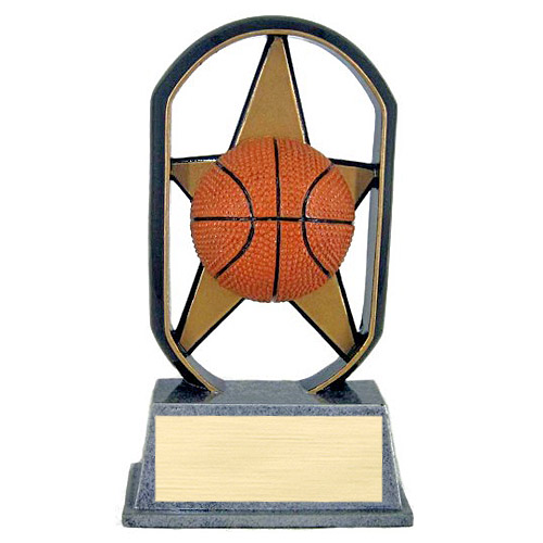 "5"" Ecostarz Basketball Resin"