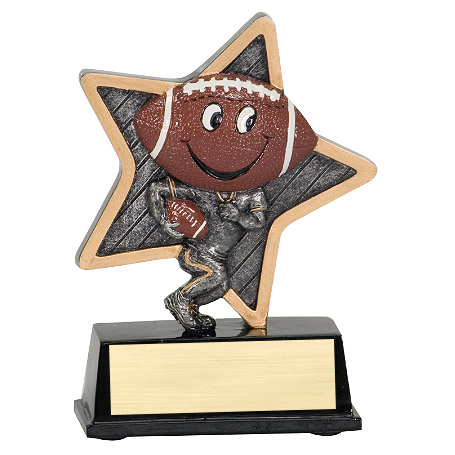 5 in LittlePal Football Resin